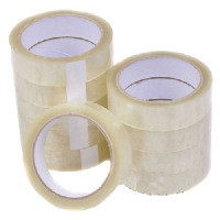 "Clear Packaging Sellotape Tape (1"") 25mm x 66 meters"